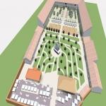 Concept de amenajare, funcționare și revitalizare a unor spații interioare și curții Muzeului Județean Bistrița-Năsăud